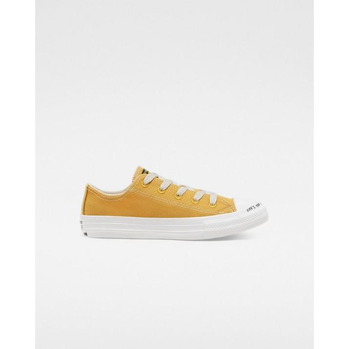 Converse Chuck Taylor All Star Kinder Schuhe Gold/Beige/Weiß 365478C