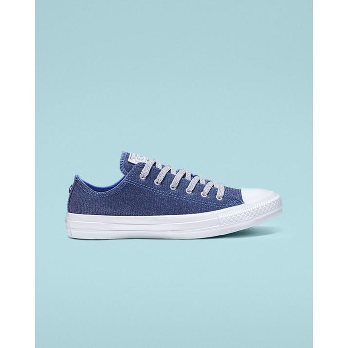 Womens Converse Chuck Taylor All Star Shoes Blue/Light Blue 564916C