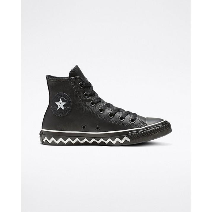 Womens Converse Chuck Taylor All Star Shoes Black/White/Black 564948C