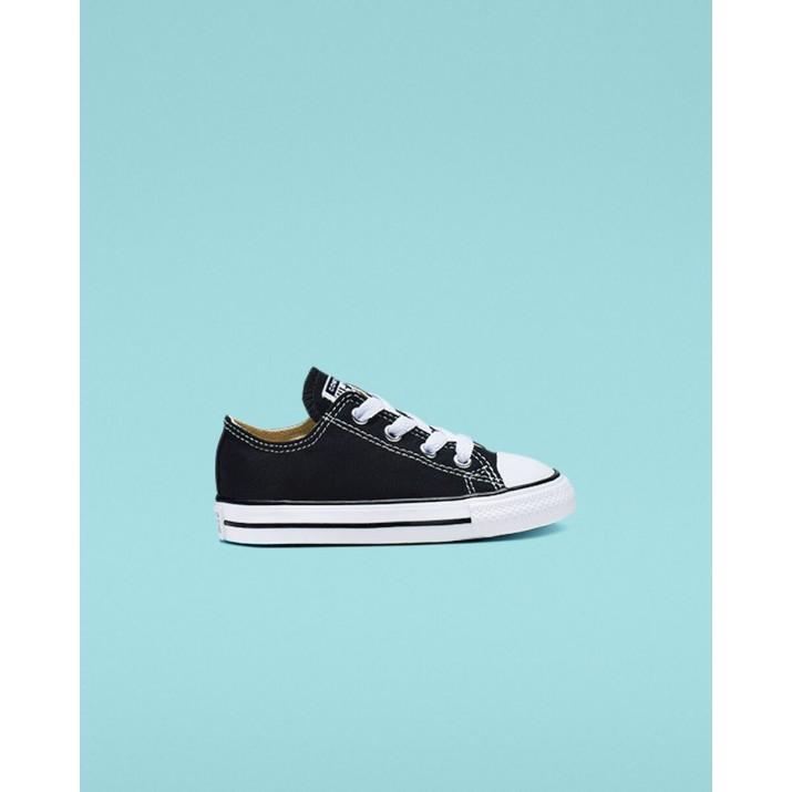 Kids Converse Chuck Taylor All Star Shoes Black 7J235