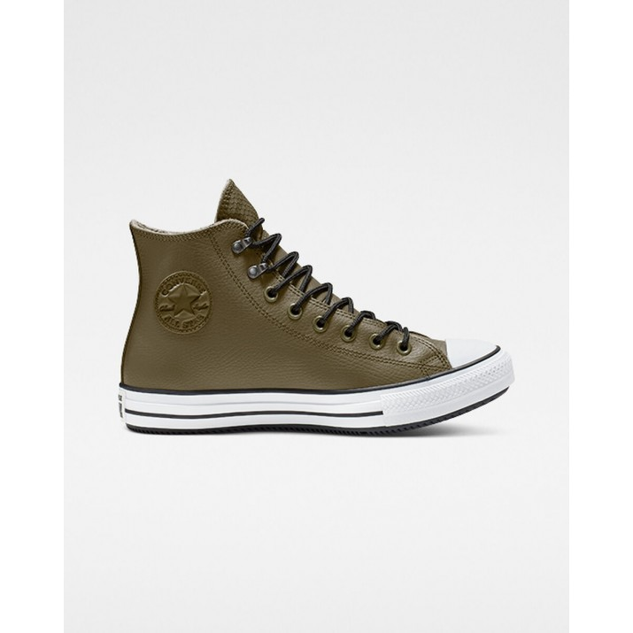Mens Converse Chuck Taylor All Star Shoes Olive/Black/White 164925C
