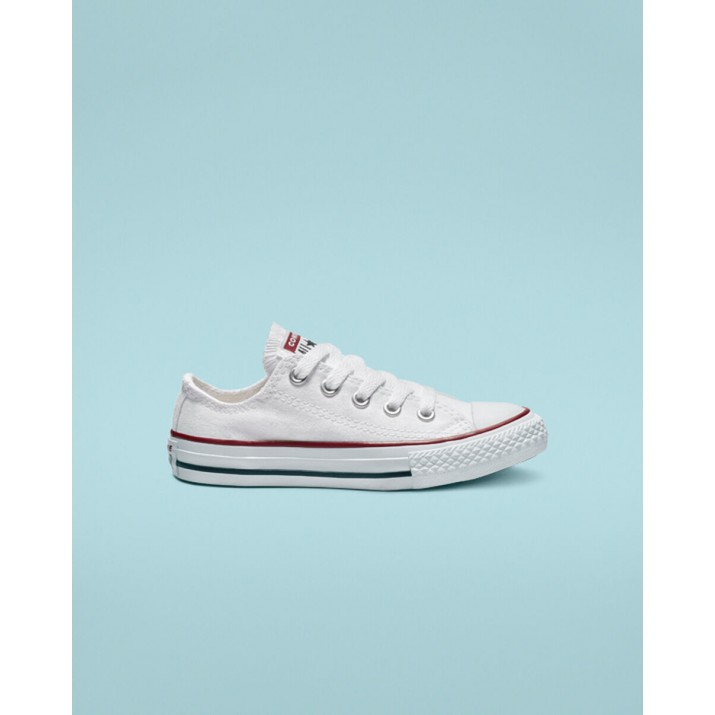 Kids Converse Chuck Taylor All Star Shoes White 3J256