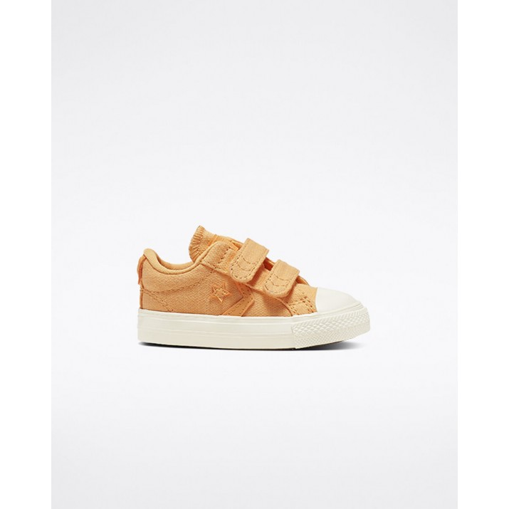 Kids Converse Star Player Shoes Brown 764439C