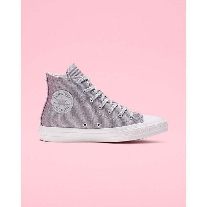 Womens Converse Chuck Taylor All Star Shoes Platinum/Blue/Pink 564910C