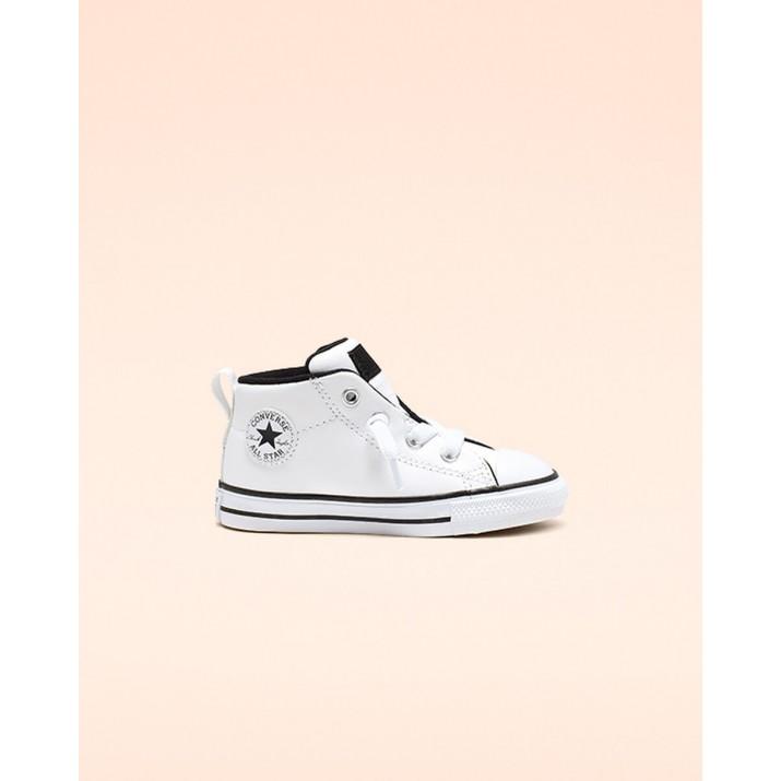 Sapatilhas Converse Chuck Taylor All Star Criança Branco/Pretas 763837C