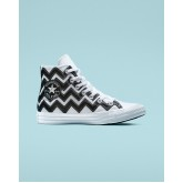 Womens Converse Chuck Taylor All Star Shoes White/Black/White 565376C