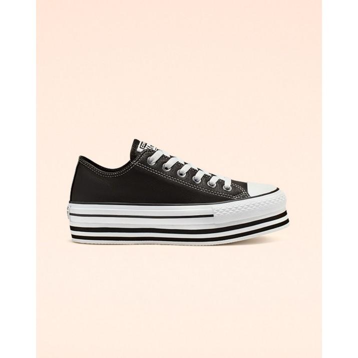Womens Converse Chuck Taylor All Star Shoes Black/White/Black 565828C