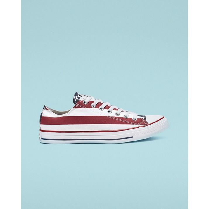 Mens Converse Chuck Taylor All Star Shoes Red/White M3494