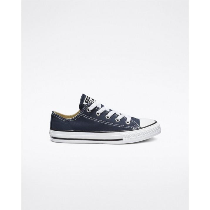 Kids Converse Chuck Taylor All Star Shoes Navy 3J237