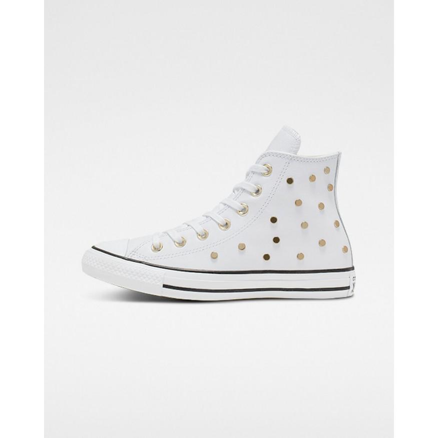 converse chaussures blanche femme noir