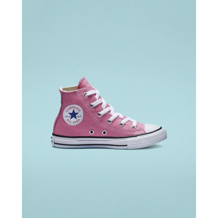 Kids Converse Chuck Taylor All Star Shoes Pink 3J234