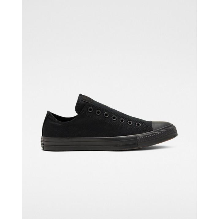 Mens Converse Chuck Taylor All Star Shoes Black/Black 166396F