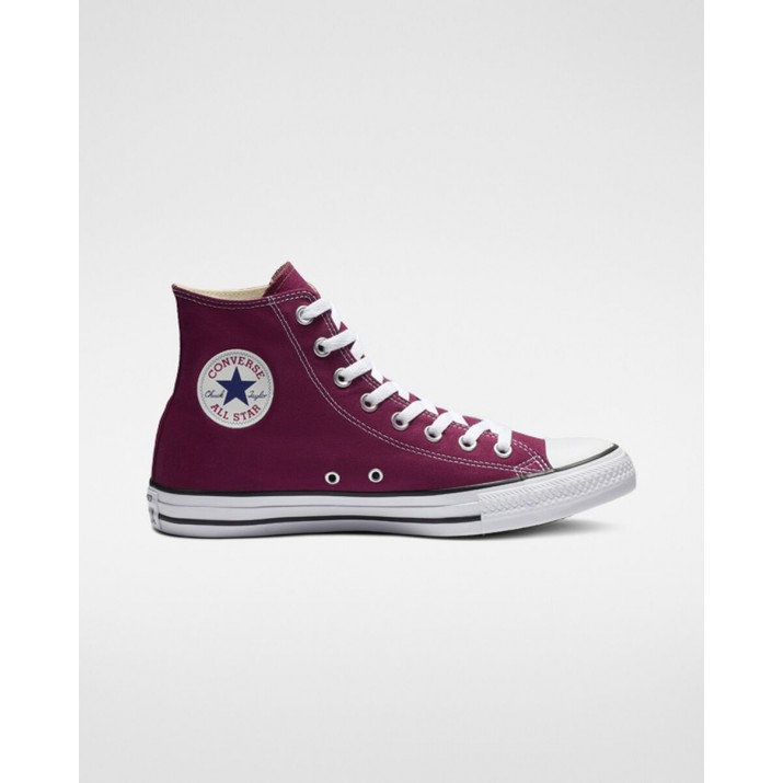 Mens Converse Chuck Taylor All Star Shoes Burgundy M9613