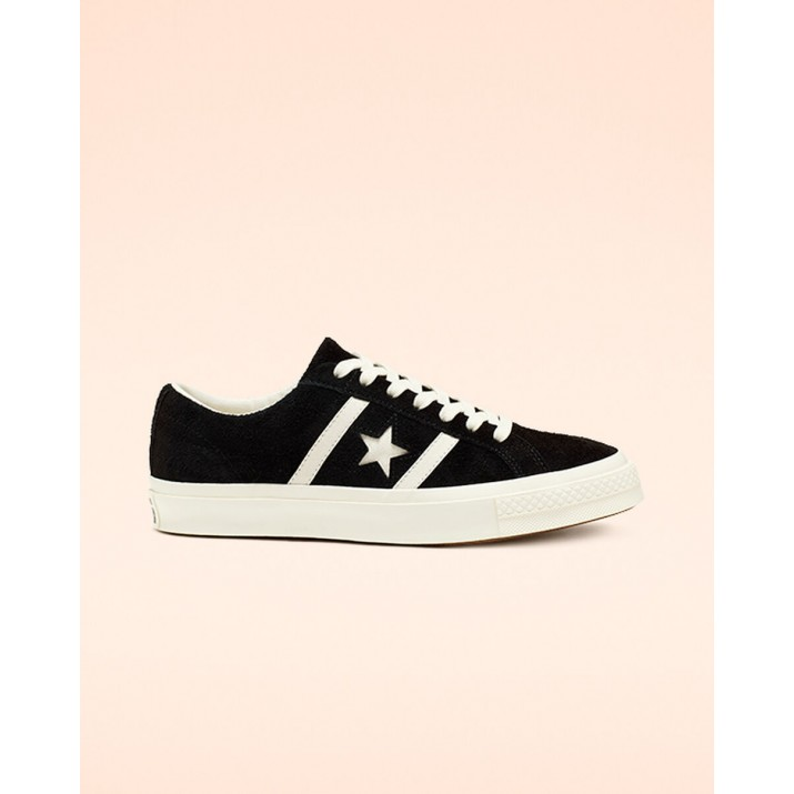 Womens Converse One Star Shoes Black 164525C