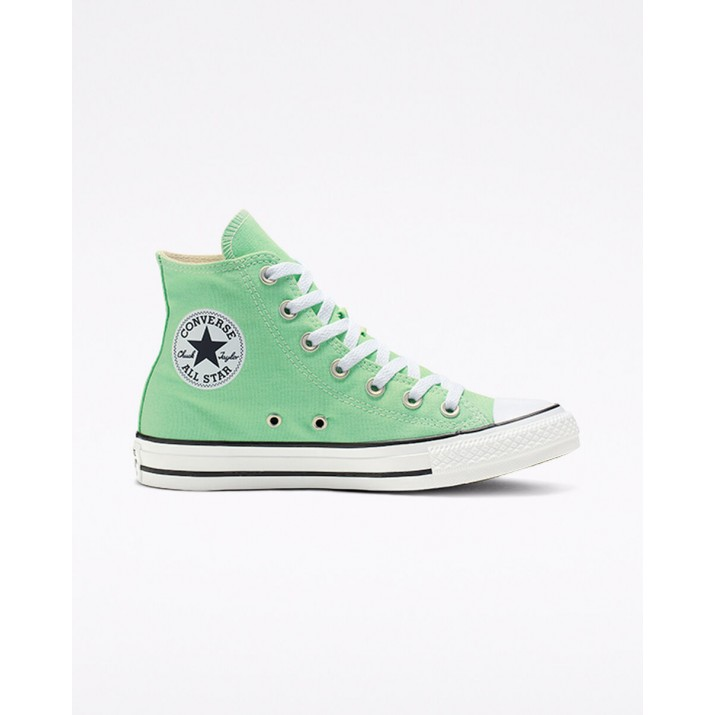Womens Converse Chuck Taylor All Star Shoes Green 164396F