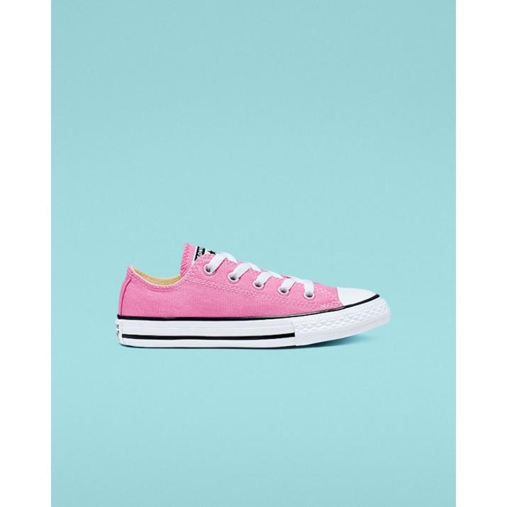 Kids Converse Chuck Taylor All Star Shoes Pink 3J238