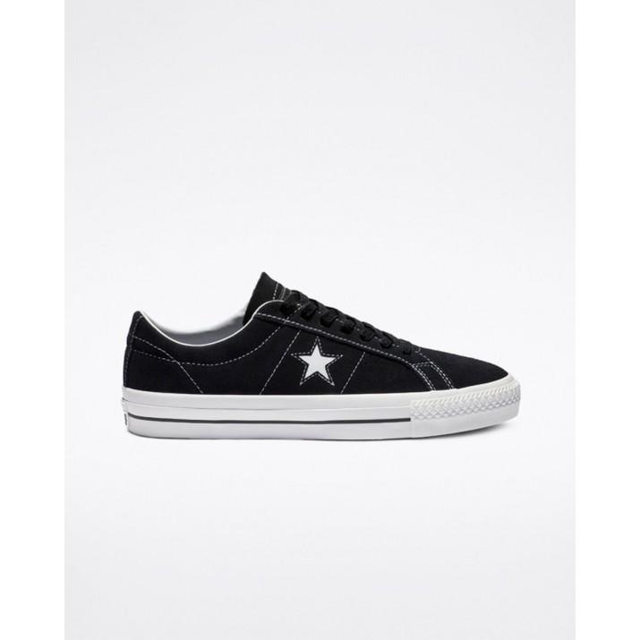 Converse One Star Damen Schuhe Schwarz/Weiß 159579C