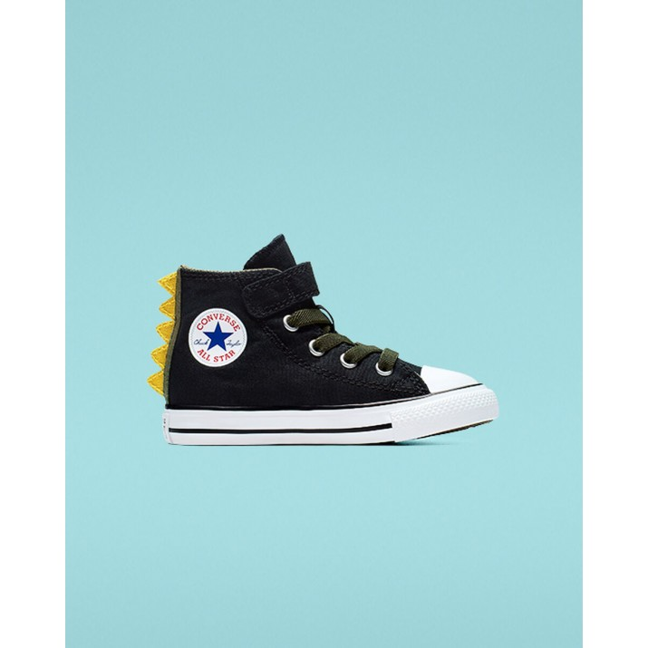 Kids Converse Chuck Taylor All Star Shoes Black/White 765351C
