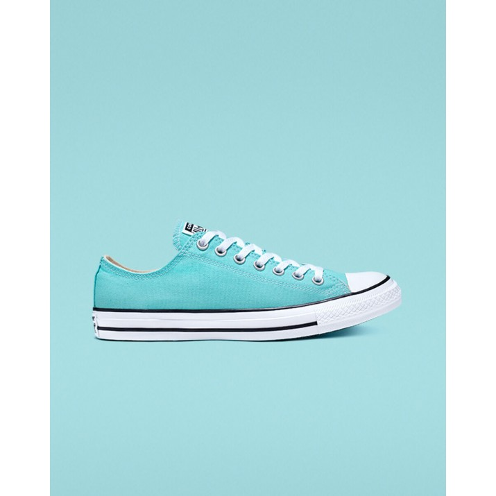 Womens Converse Chuck Taylor All Star Shoes Light Turquoise/White/Black 165496F