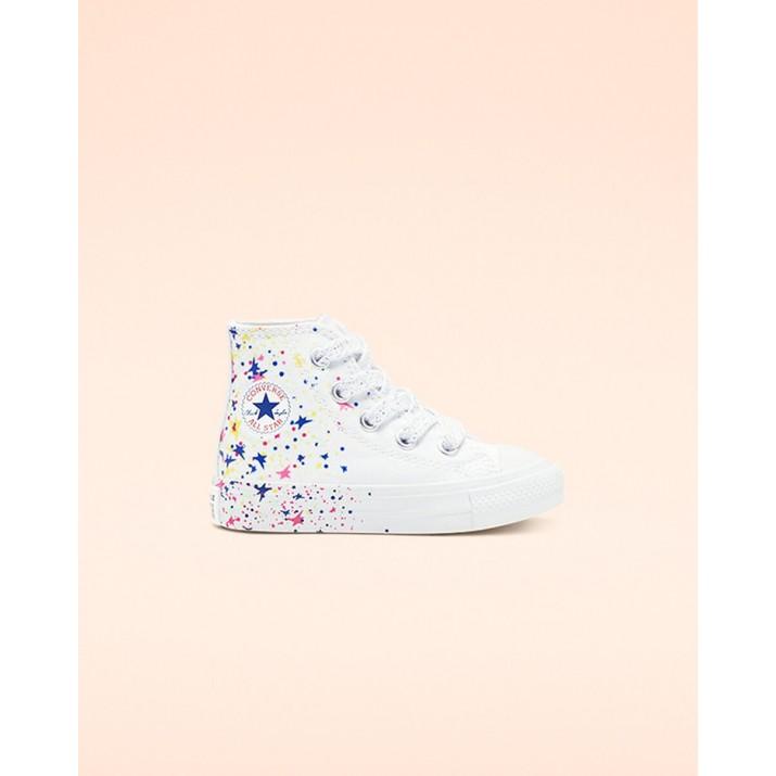 Zapatillas Converse Chuck Taylor All Star Niños Blancas/Multicolor/Blancas 766459F
