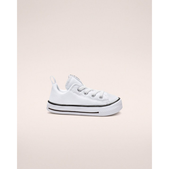 Sapatilhas Converse Chuck Taylor All Star Criança Branco/Pretas/Branco 763536C