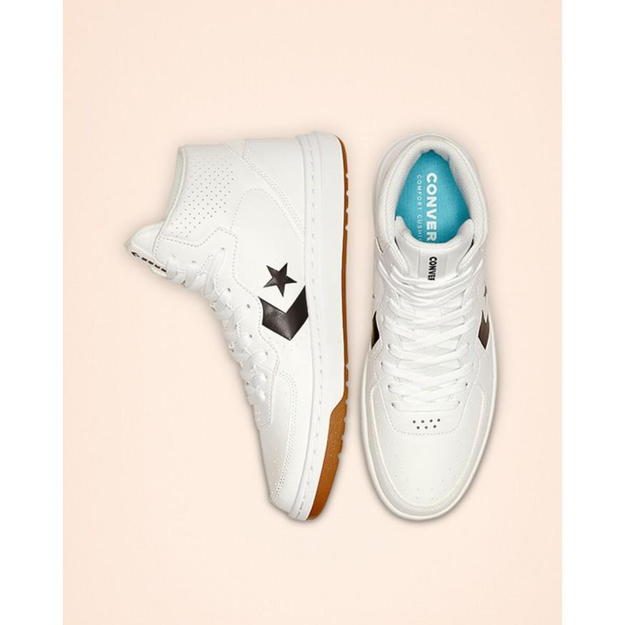 Correspondiente fiesta Prefacio  New Converse Rival Shoes For Men White/Black/White Discount