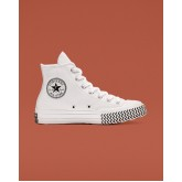 Womens Converse Chuck 70 Shoes White/Black/White 564970C
