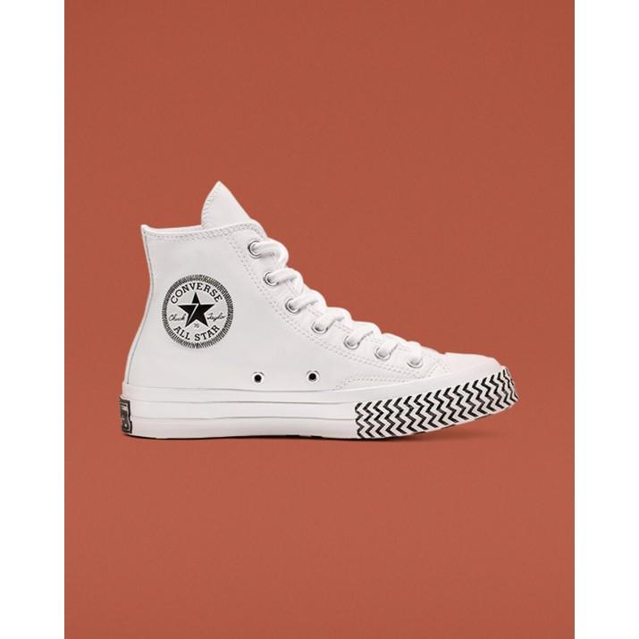 Womens Converse Chuck 70 Shoes White/Black/White 564970C