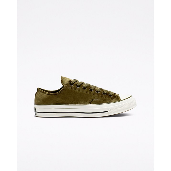 Womens Converse Chuck 70 Shoes Olive/Black 165178C