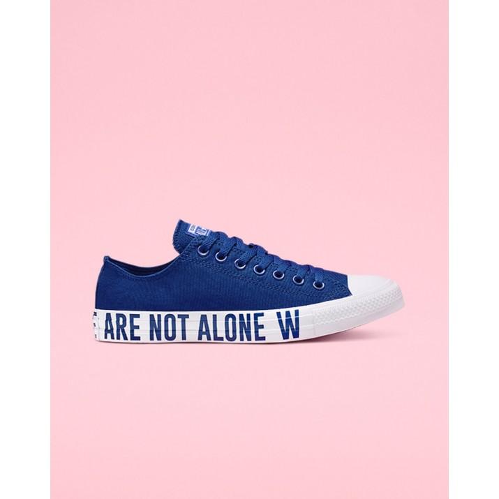 Mens Converse Chuck Taylor All Star Shoes Blue/Black/Blue 165383F