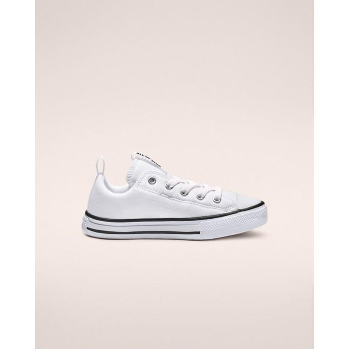Sapatilhas Converse Chuck Taylor All Star Criança Branco/Pretas/Branco 663634C