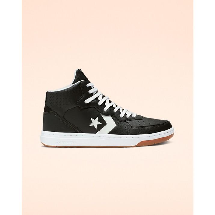 Womens Converse Rival Shoes Black/White 164891C