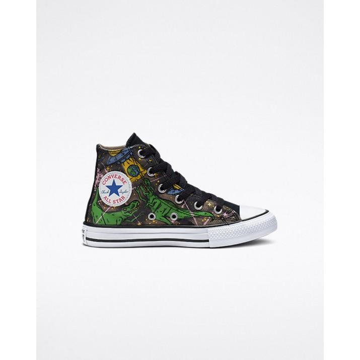 Kids Converse Chuck Taylor All Star Shoes Black 665391C