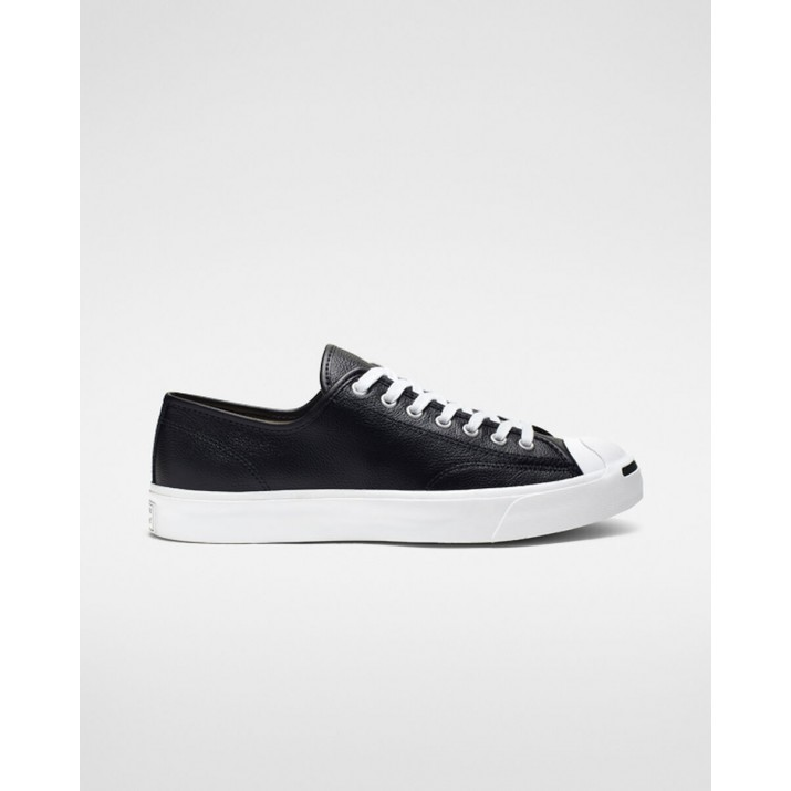 Womens Converse Jack Purcell Shoes Black/White 164224C
