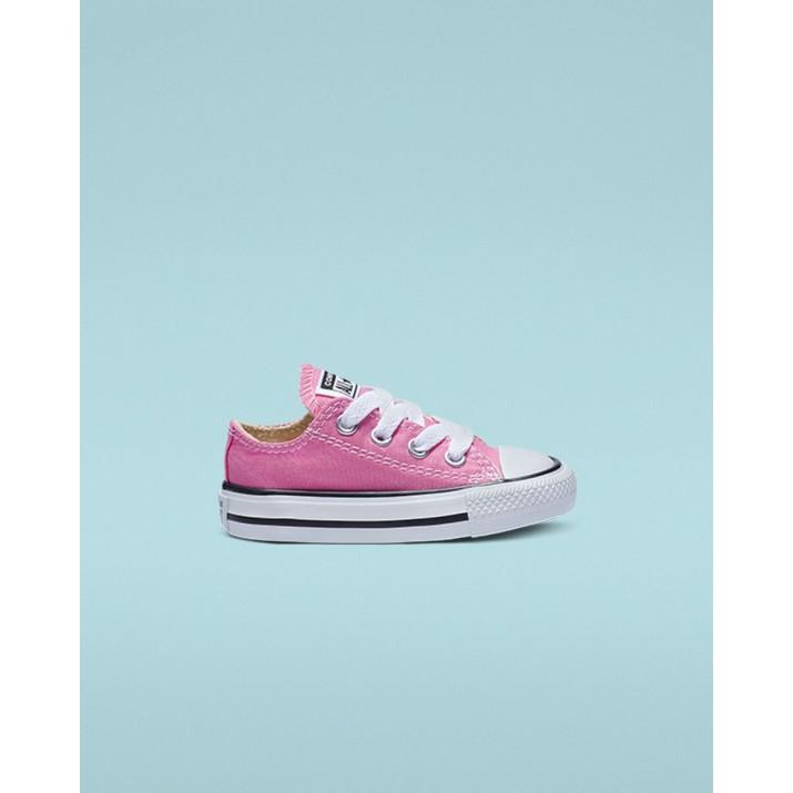 Kids Converse Chuck Taylor All Star Shoes Pink 7J238