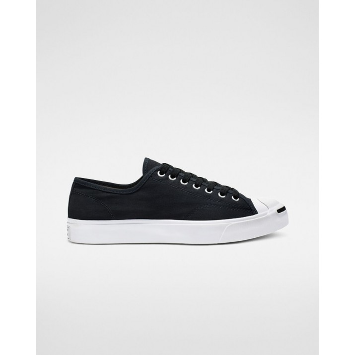 Womens Converse Jack Purcell Shoes Black/White/Black 164056C