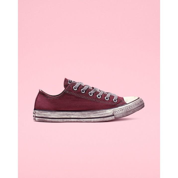 Womens Converse Chuck Taylor All Star Shoes Burgundy/Black/White 160153C