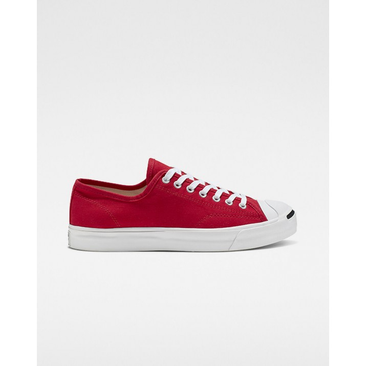 Mens Converse Jack Purcell Shoes Red/White/Black 165010C