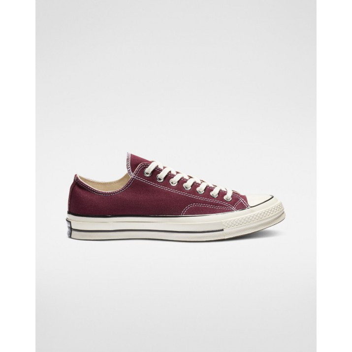 Womens Converse Chuck 70 Shoes Dark Burgundy/Black 162059C