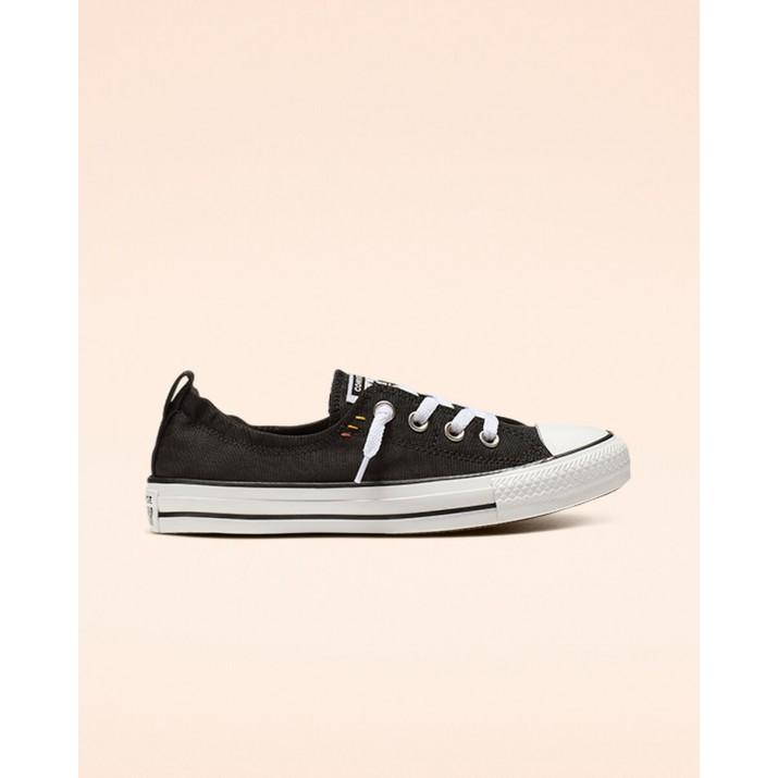 Womens Converse Chuck Taylor All Star Shoes Black/White/Black 565244F