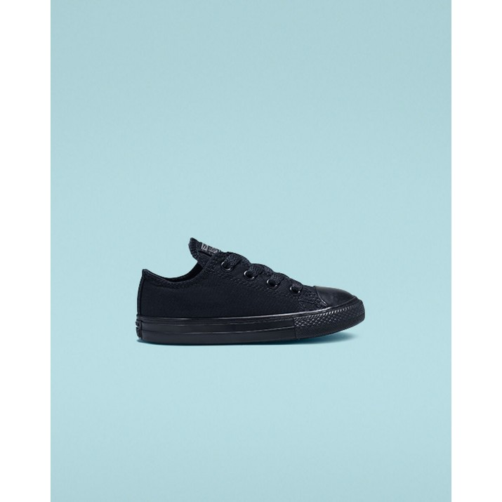 Kids Converse Chuck Taylor All Star Shoes Black 714786F