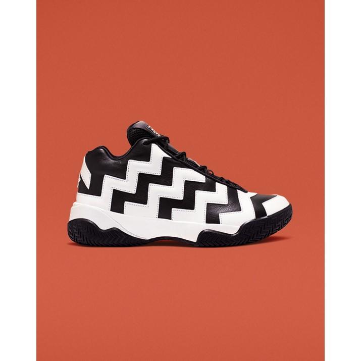 Womens Converse Vltg Mid Shoes Black/White/Black 565061C