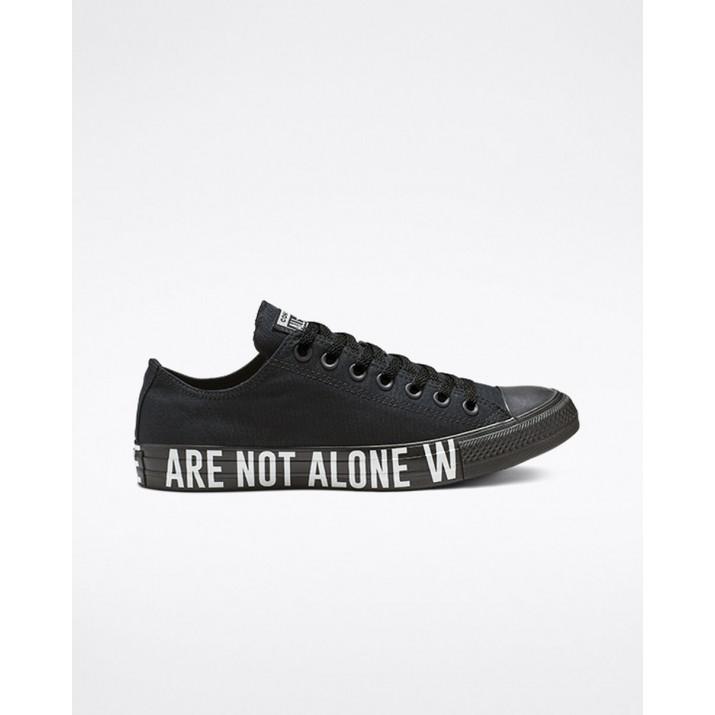 Mens Converse Chuck Taylor All Star Shoes Black/White/Black 165382F