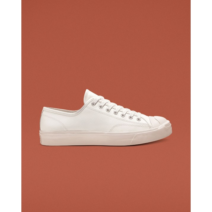 Mens Converse Jack Purcell Shoes White/White 164225C